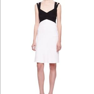 Narciso Rodriguez NWT sz 42/ 6 dress color block